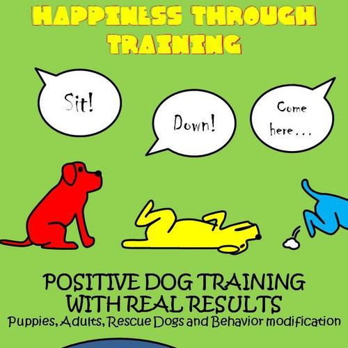 Postcard for Dog Training