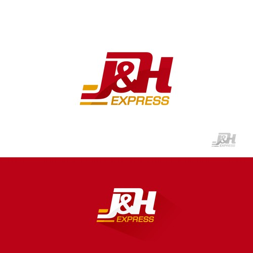 Bold logo for food delivery