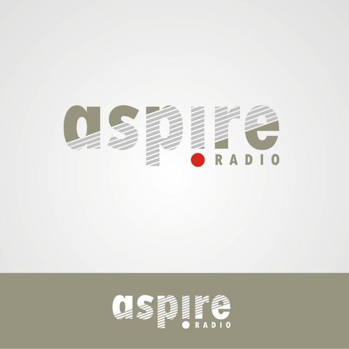 Create a logo for 'Aspire Radio'