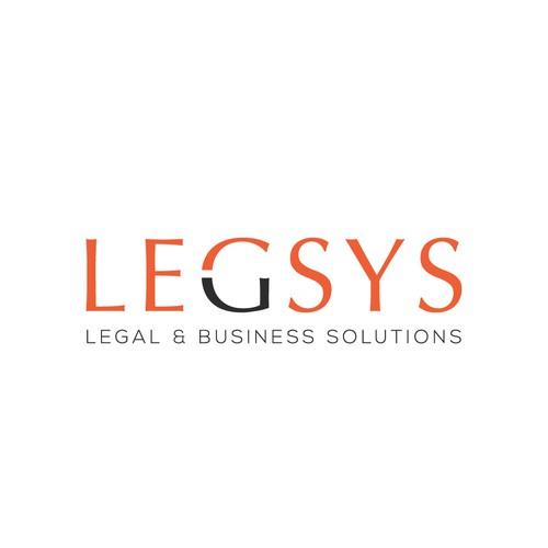 Elegance logo design for LEGSYS