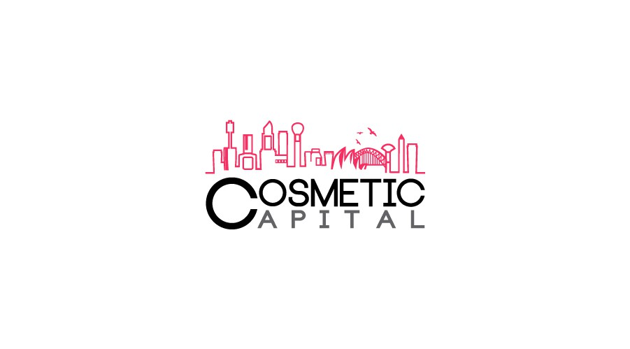 Create a clever catchy illustrated logo for Cosmetic Capital