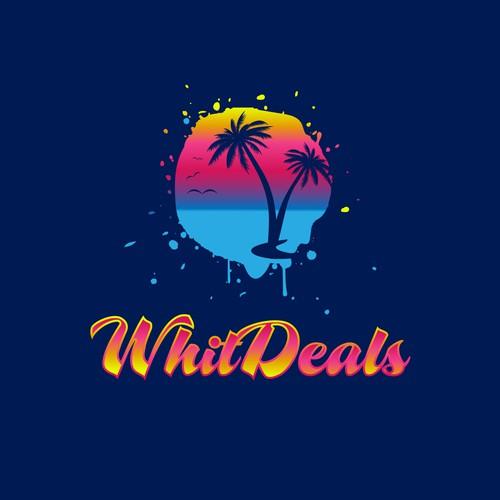 Vibrant Tropical Tourism Logo