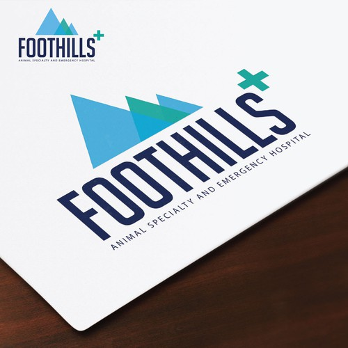 foothills logo design
