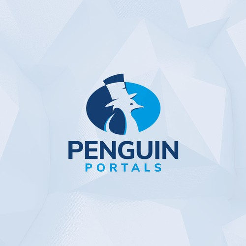 Logo for Penguin Portals.