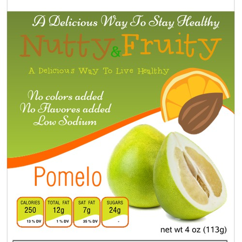 Improve label for Nutty And Fruity