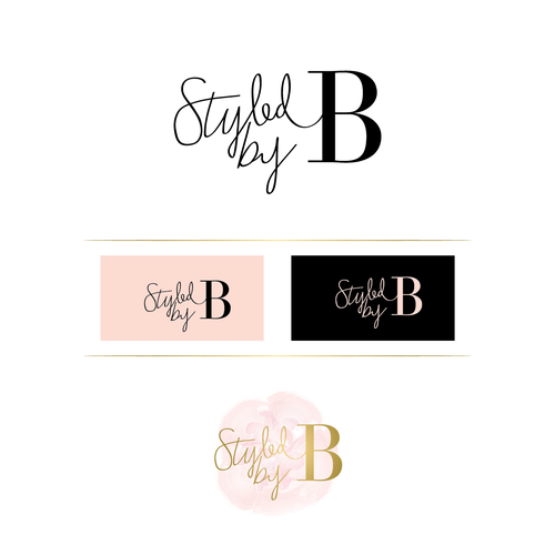 Elegant and fun logo for fashion blog