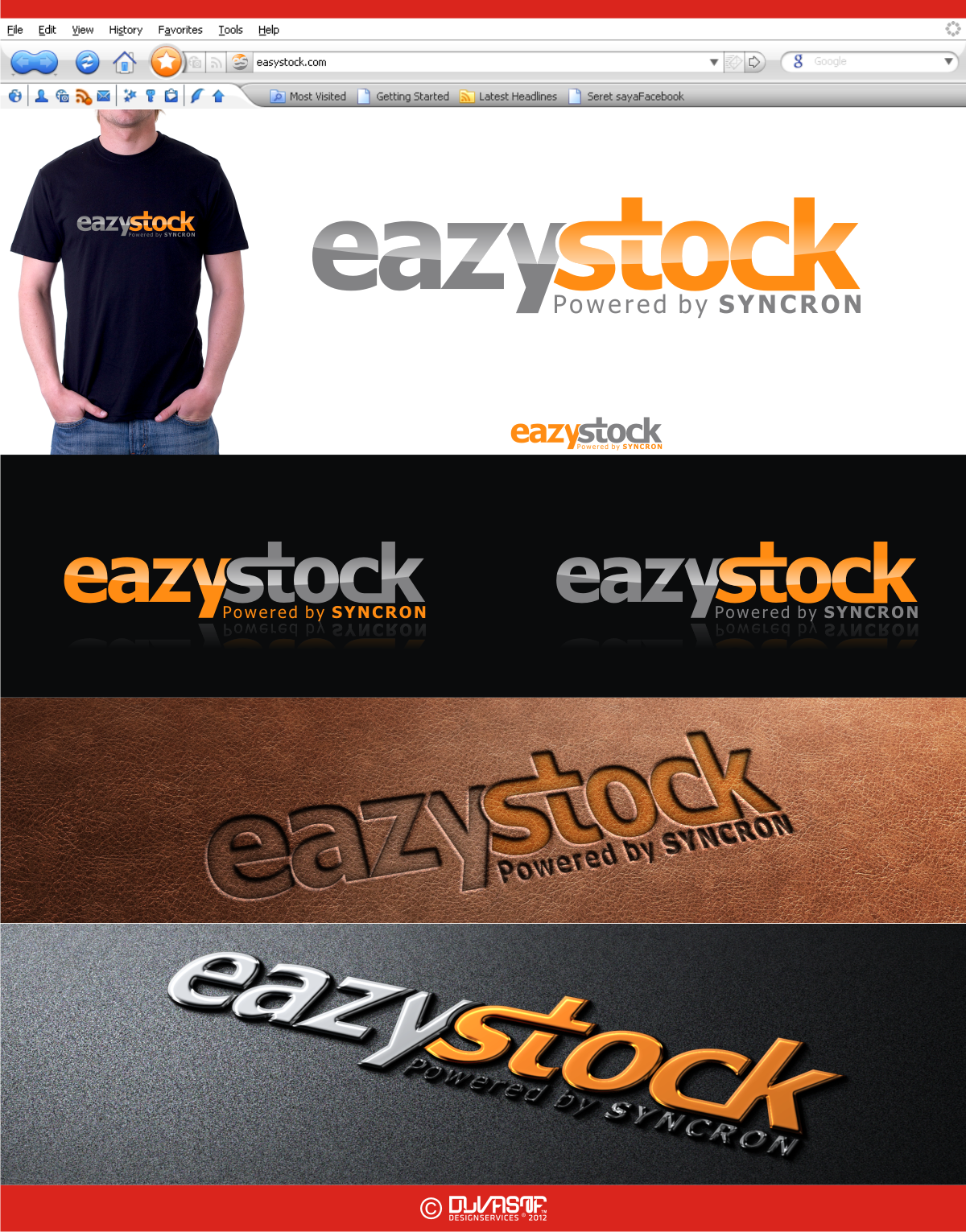 Help EazyStock with a new logo