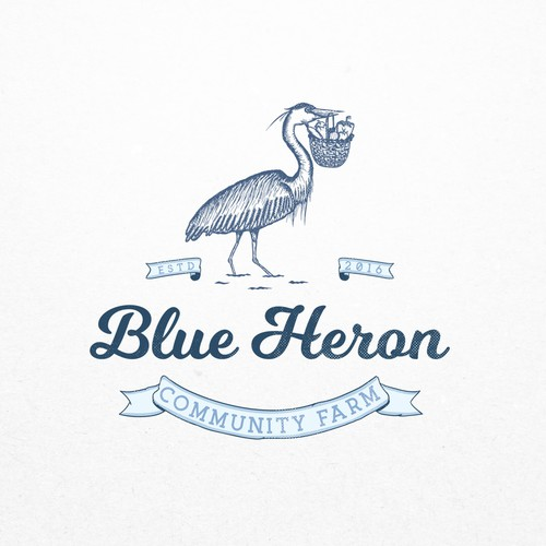 Concept for Blue Heron Com. Farm