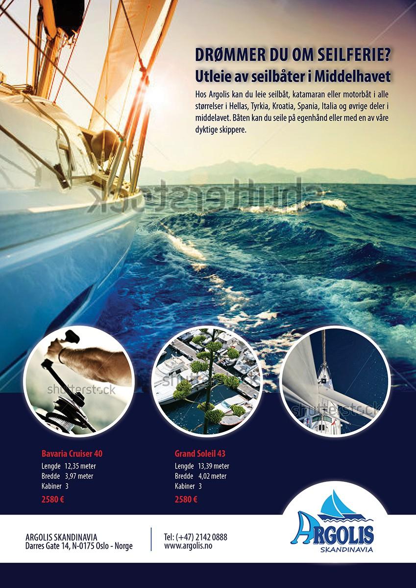 Argolis needs a new Yacht Charter fullpage add