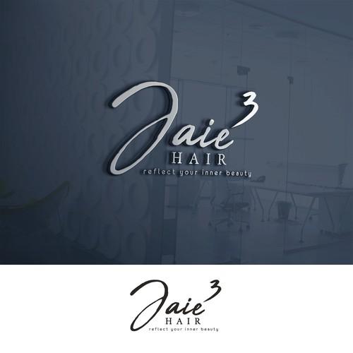 Logo for hair & beauty salon
