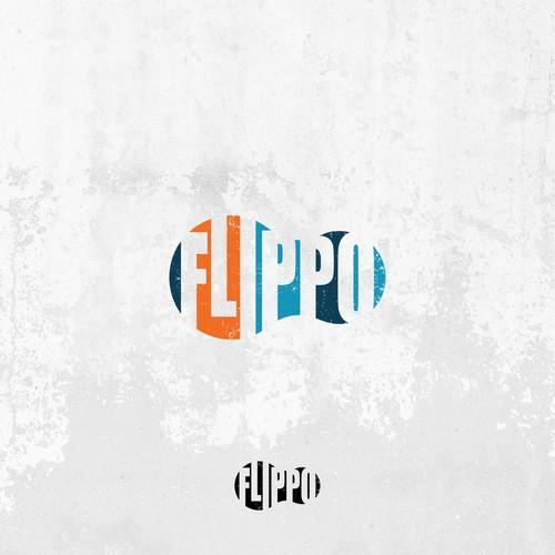 Minimalist logo for FlipFlops