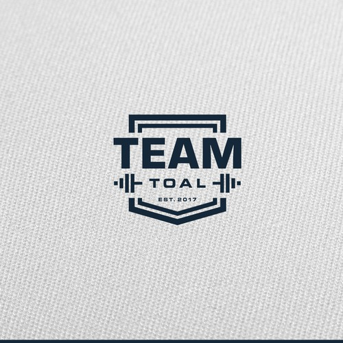 Logo for a CrossFit/Olympic Weightlifting team