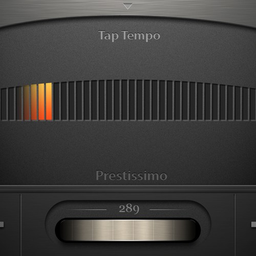 iOS Metronome App Redesign- update our look!