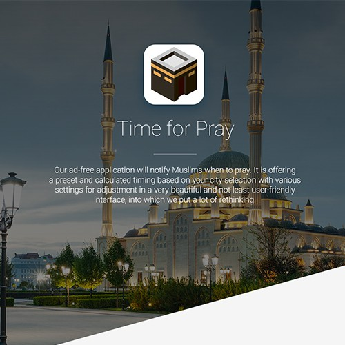 Prayer timer concept