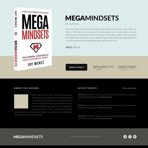 "Book Cover ""Mega Mindsets"" Jay Menez"