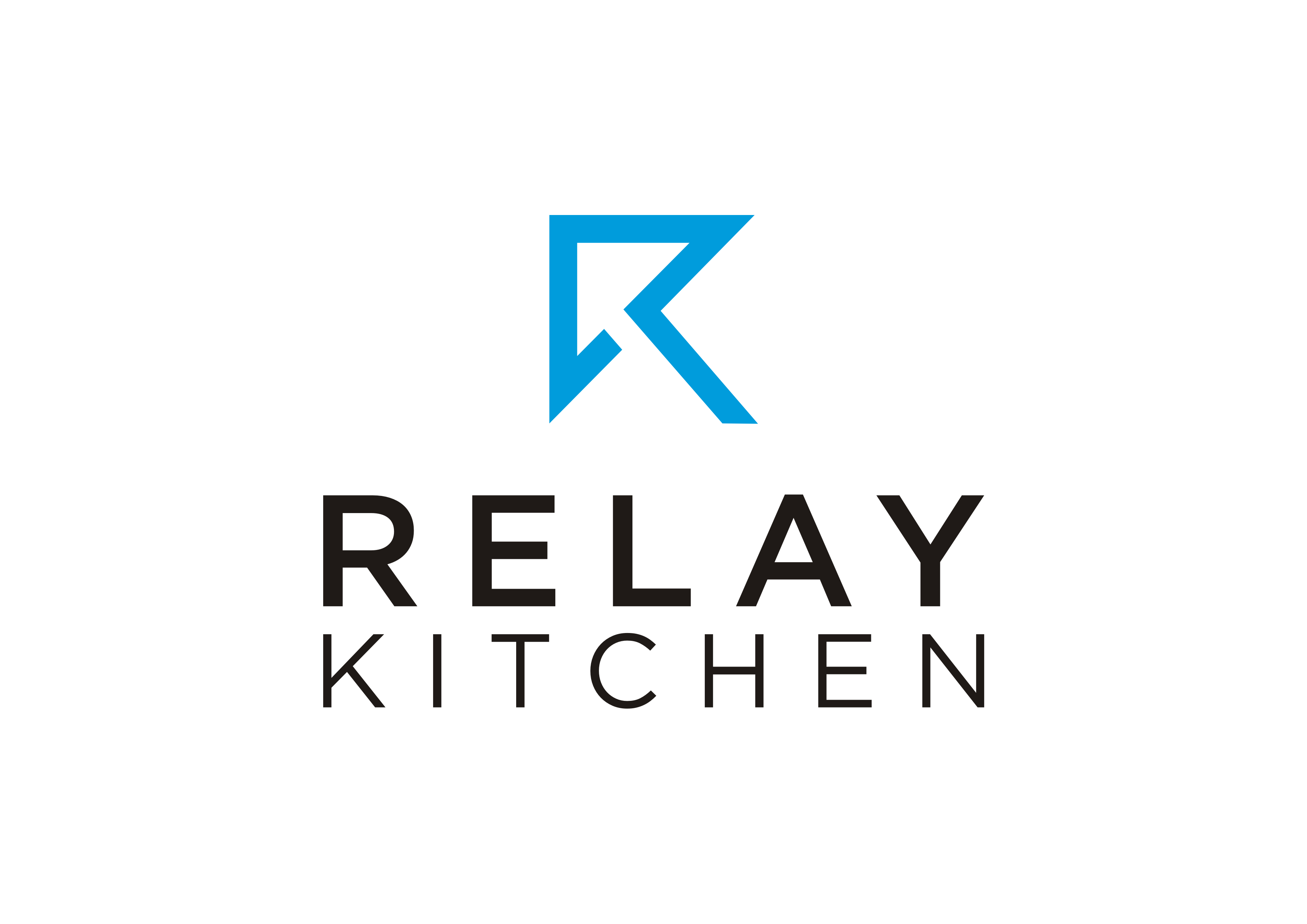 Create an awesome logo for Relay Kitchen! (high-end kitchen tools)