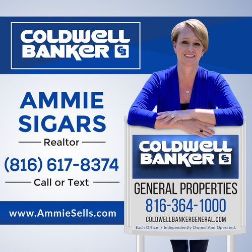 Square Banner Of A Realtor
