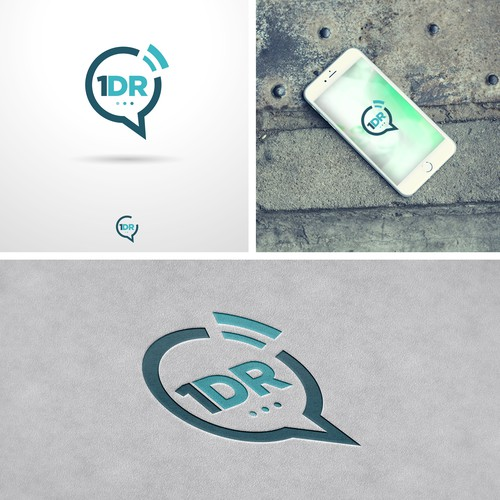 1DR Mobile Application Logo