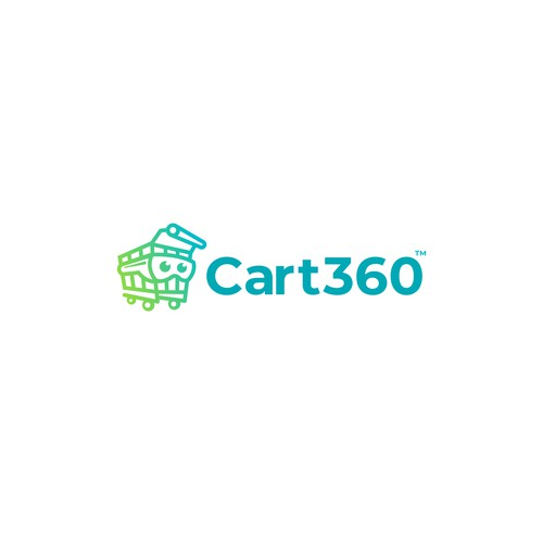 Logo for 3D virtual shopping platform