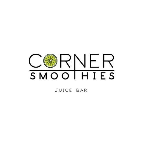 Corner Smoothies Design Entry #1