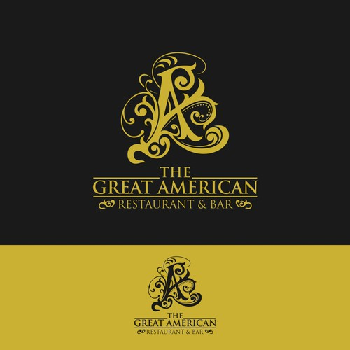 Logo for American bar and restaurant