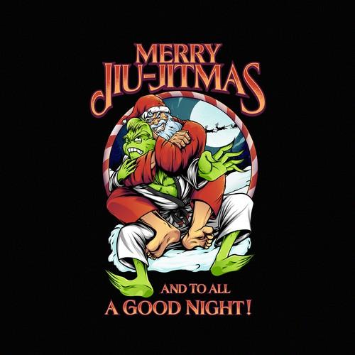 Merry jiu jitmas