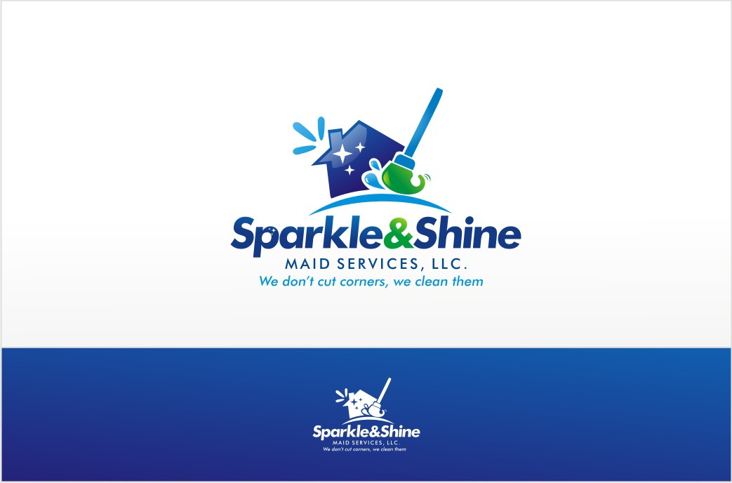 New logo wanted for Sparkle and Shine Cleaning Service