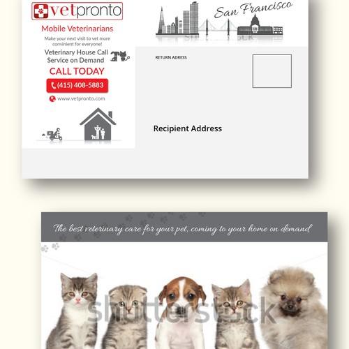 VetPronto Postcard