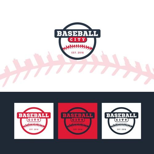 Logo for Baseball City