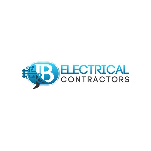 Create the next logo for J & B Electrical Contractors