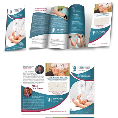 Brochure for medical practice!