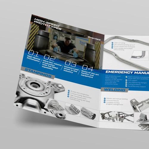 Technique Brochure Bi-fold