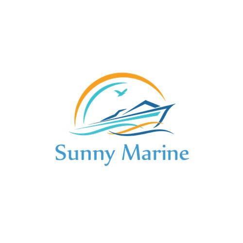 Logo for Sunny Marine