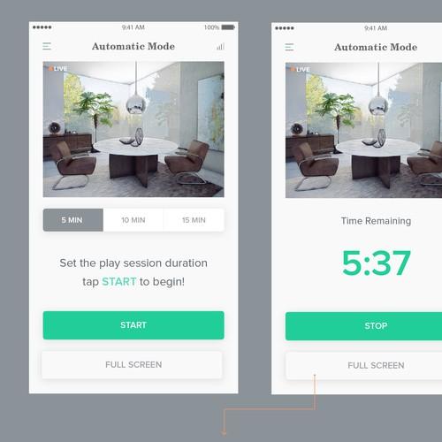 Mobile App for Camera