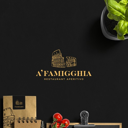 A'FAMIGGHIA Logotype