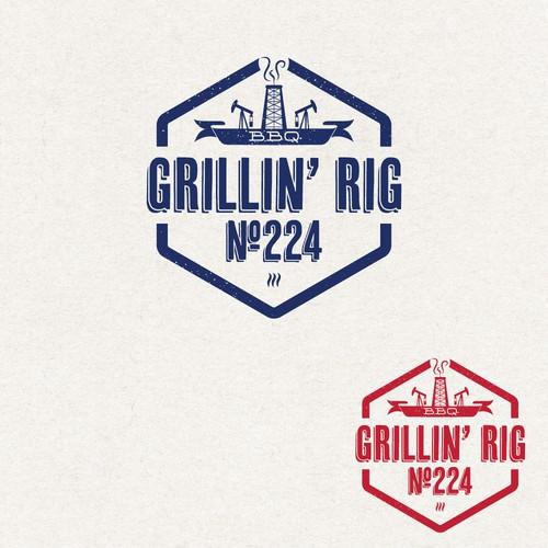 Design a logo for a West Texas BBQ company