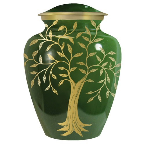 Tree of Life Funeral Urn