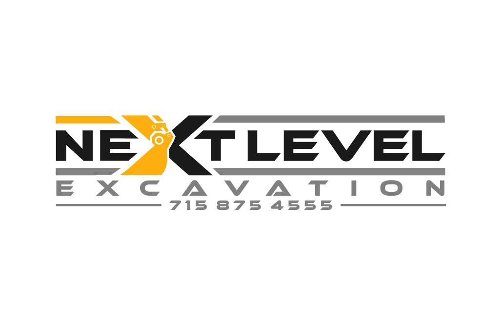 -Design a logo for Next Level Excavation-