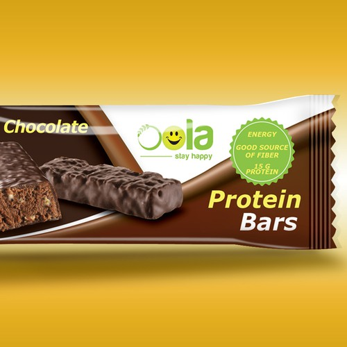 Protein Bar wrapper