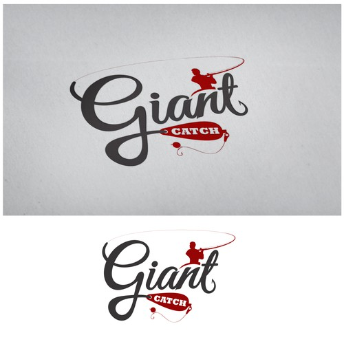 Create a high end webshop logo for sophisticated, custom made fishing products for a new company
