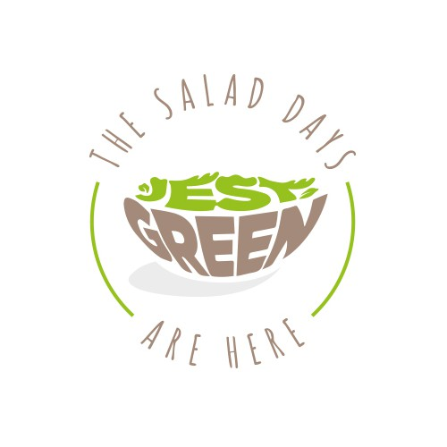 Healthy food logo.