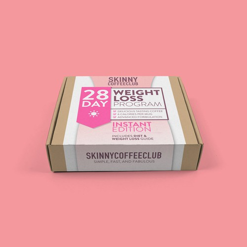 Weight Loss Coffee Box
