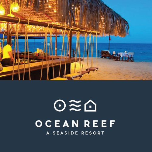 Logo concept for the Ocea Reef Resort