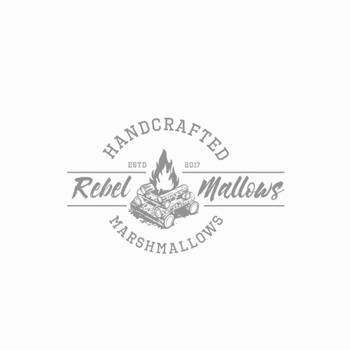 Rebel Mallows needs a logo for Handcrafted Marshmallows