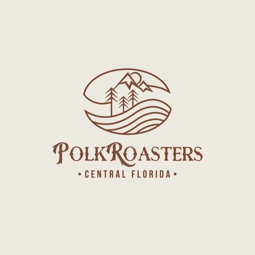 Coffee roasting logo