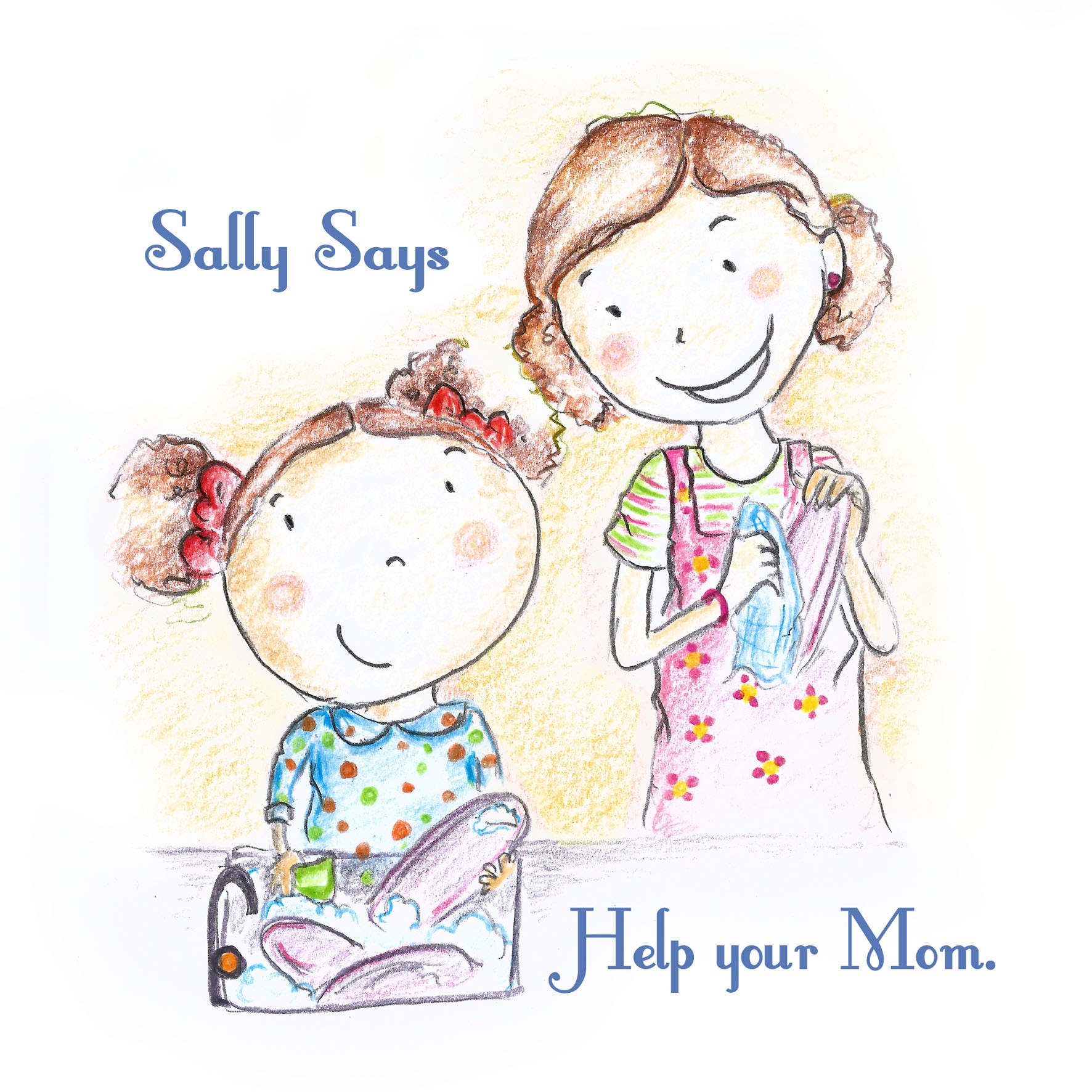 Help Sally Says with a new art or illustration