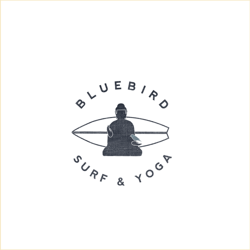Logo for a Surf & Yoga Hotel
