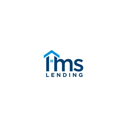 The winning logo design for IMS lending