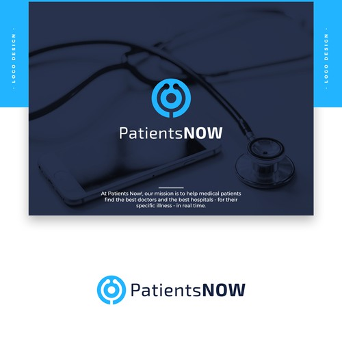 "Design a Captivating Logo for ""Patients Now!"""