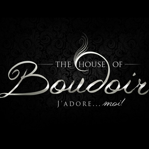 Create the next logo and business card for The House Of Boudoir